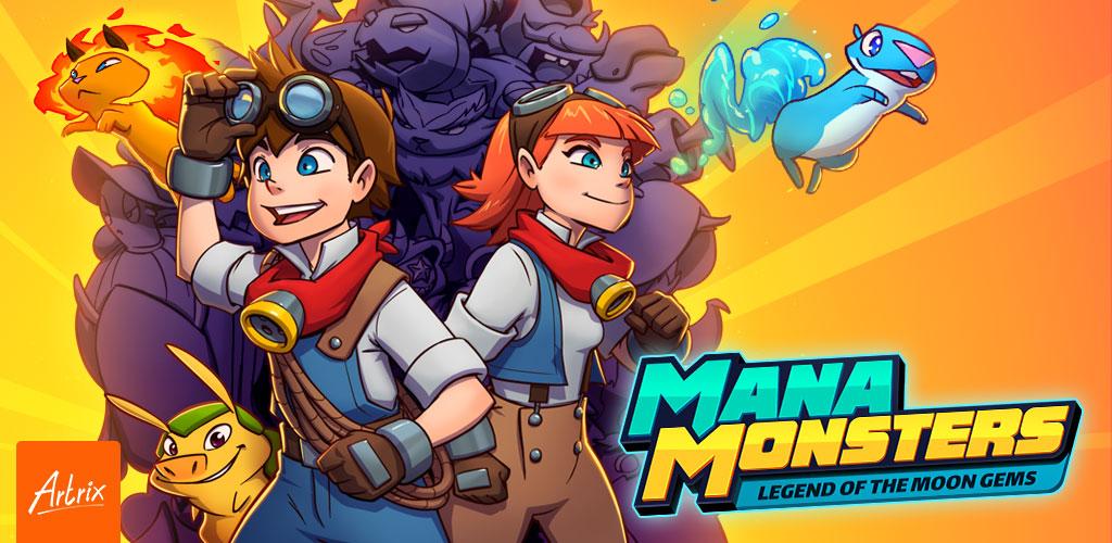 """دانلود Mana Monsters 3.9.12 – بازی نقش آفرینی """"هیولاهای مانا"""" اندروید!"""