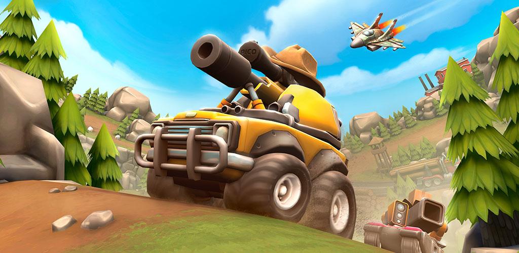 """دانلود Pico Tanks: Multiplayer Mayhem 42.1.0 – بازی اکشن """"تانک های پیکو"""" اندروید + مود + دیتا"""