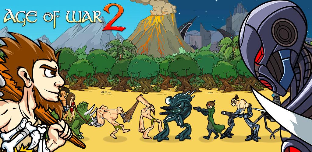 """دانلود Age of War 2 1.6.5 – بازی استراتژیک """"عصر جنگ ۲"""" اندروید + مود"""