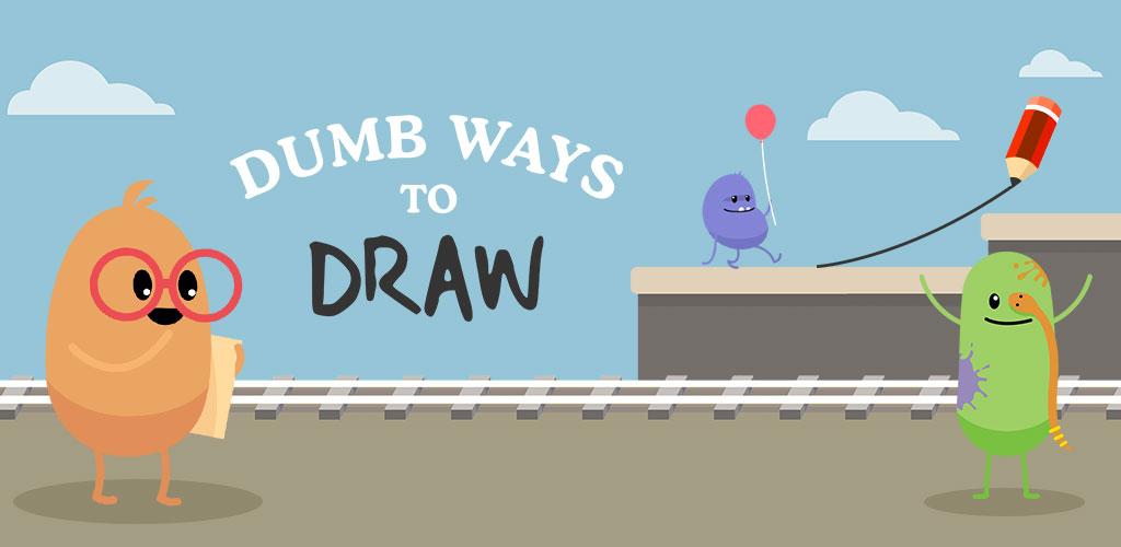 """دانلود Dumb Ways To Draw 5.0.2 – بازی کژوال جالب """"روش های احمقانه برای زنده ماندن"""" اندروید + مود"""