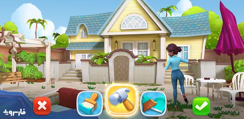 """دانلود Design Island 3.25.0 – بازی مدیریتی-پازلی جالب """"جزیره طراحی"""" اندروید + مود"""
