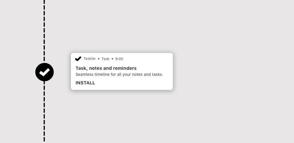 دانلود Taskito – To-do list & tasks in a timeline Premium 0.7.8 – اپلیکیشن برنامه ریزی وظایف مخصوص اندروید
