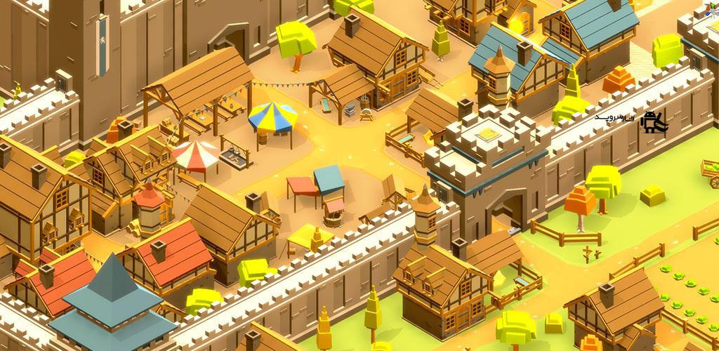دانلود Pocket Build 3.47 – بازی شهرسازی فوق العاده و بی نظیر اندروید + مود + دیتا