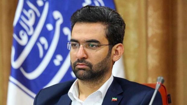 آذری جهرمی: سند همکاری های ایران و چین باعث محدودیت اینترنت نمیشود