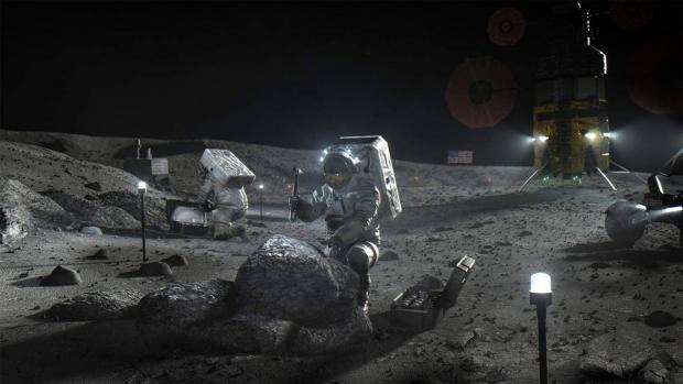 اسپیس ایکس ماه نشین پروژه آرتمیس ۲۰۲۴ ناسا را میسازد