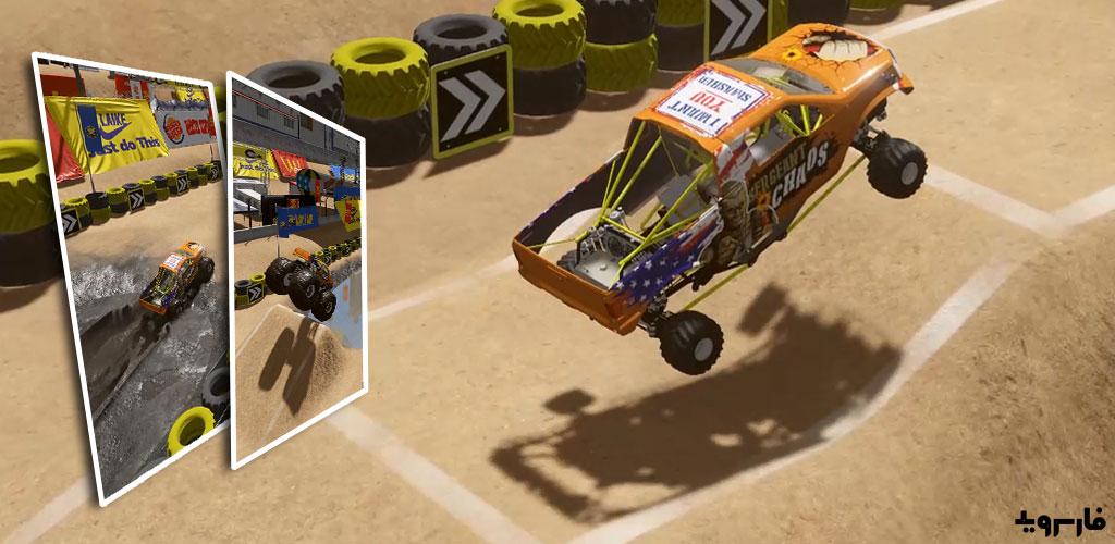 """دانلود Wheel Offroad 1.1.2 – بازی مسابقه ای """"چرخ های آفرود"""" اندروید + مود"""