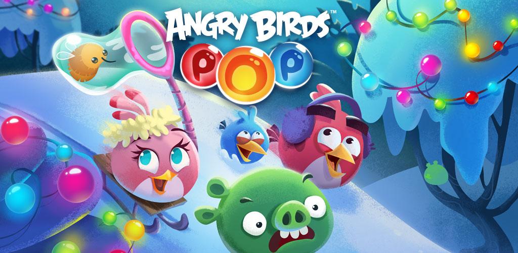 دانلود Angry Birds POP Bubble Shooter 3.89.1 – بازی پرندگان خشمگین استلا پاپ اندروید + مود