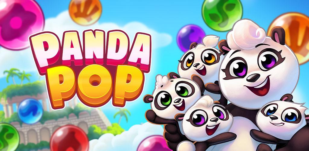 """دانلود Panda Pop 10.1.500 – بازی پازل """"پاندا پاپ"""" اندروید + مود + مگامود"""