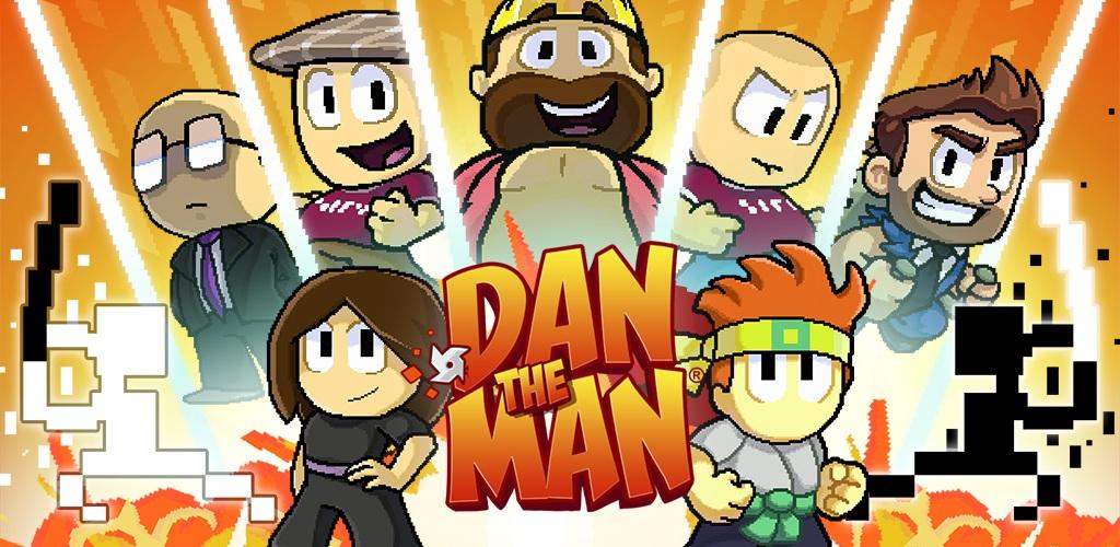 دانلود Dan The Man 1.8.23 – بازی آرکید پرمخاطب و عالی اندروید + مود