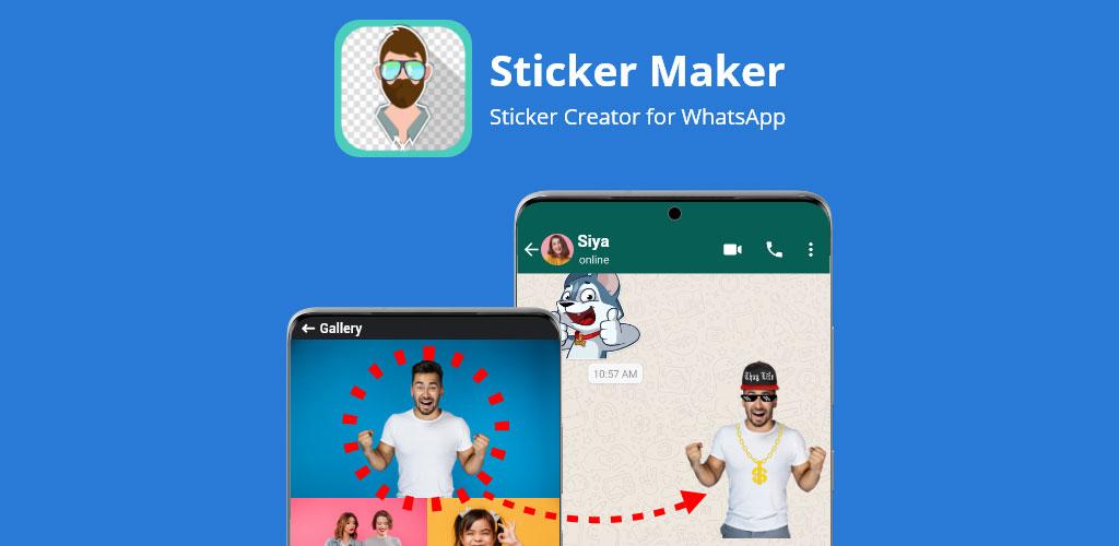 دانلود Sticker Maker Premium 4.8.8 – اپلیکیشن ساخت استیکر واتساپ مخصوص اندروید