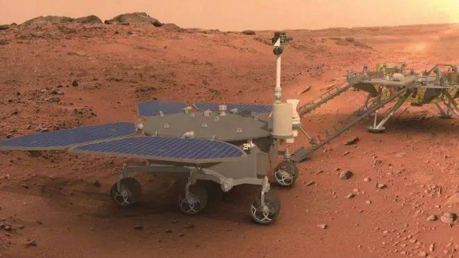 نخستین مریخ نورد چینی «ژورونگ» نام گرفت