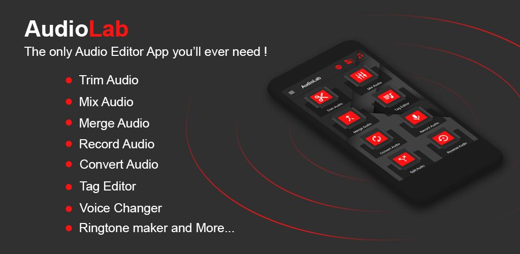 دانلود AudioLab-Audio Editor Recorder & Ringtone Maker Pro 1.1.8 – ویرایشگر صوتی مدرن و پیشرفته آیدیولب اندروید!