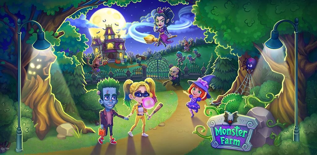 """دانلود Monster Farm 1.70 – بازی کژوال جالب و سرگرم کننده """"مزرعه هیولاها"""" اندروید + مود"""