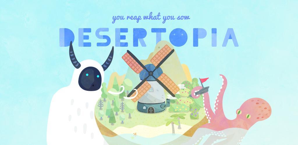"""دانلود DESERTOPIA 4.3.3 – بازی شبیه سازی جالب """"دزرتوپیا"""" اندروید + مود"""