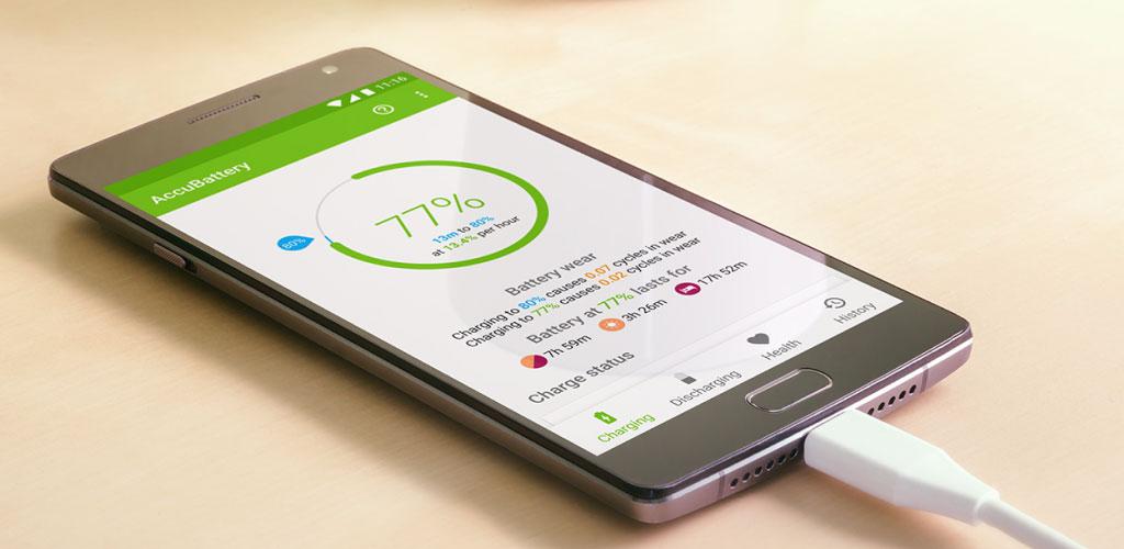 دانلود AccuBattery – Battery Health Pro 1.4.4 – برنامه محافظت از باتری اندروید + مود