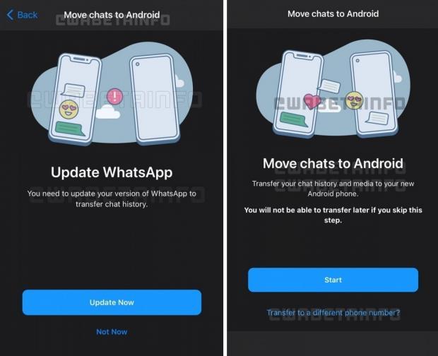 به زودی امکان انتقال تاریخچه گفتگو در واتس اپ فراهم میشود