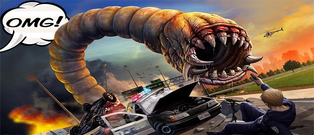 دانلود Death Worm 2.0.033 – بازی پرطرفدار کرم مرگبار اندروید + مود