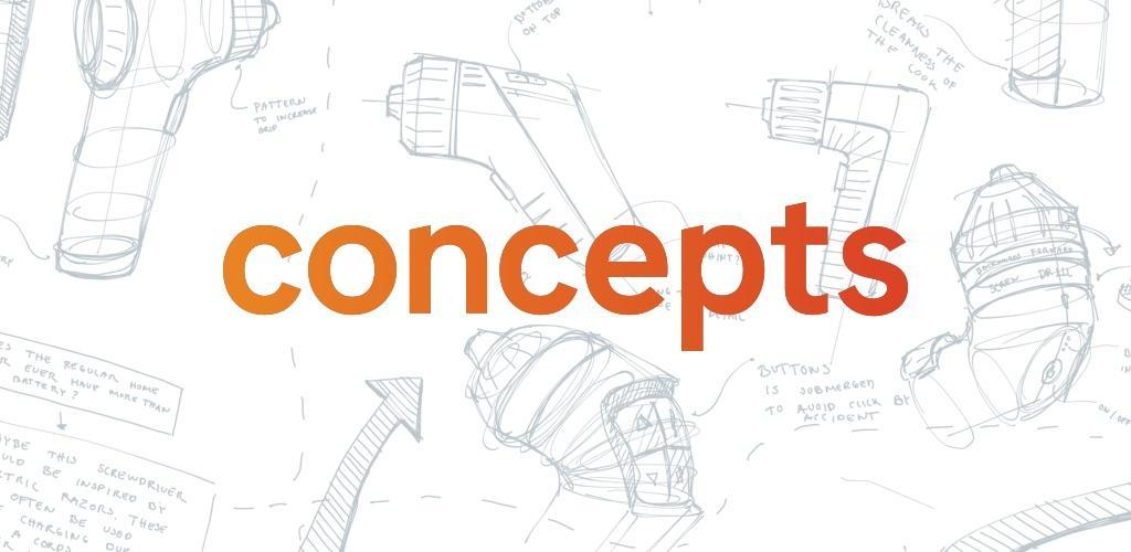 دانلود Concepts – Sketch, Design, Illustrate Premium 2021.03.5 – اپلیکیشن عالی و کامل برای طراحی مخصوص اندروید