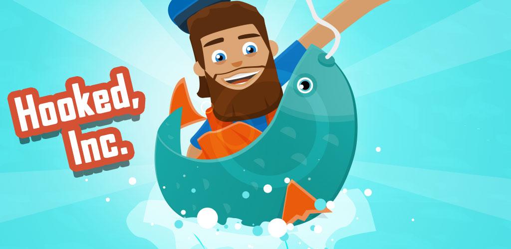 دانلود Hooked Inc: Fisher Tycoon 2.17.5 – بازی اعتیادآور ماهیگیر پولدار اندروید + مود