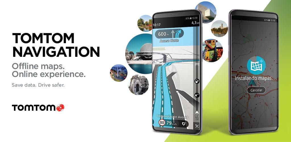 دانلود TomTom Navigation 2.8.20 – اپلیکیشن ناوبری آفلاین مخصوص اندروید + مود