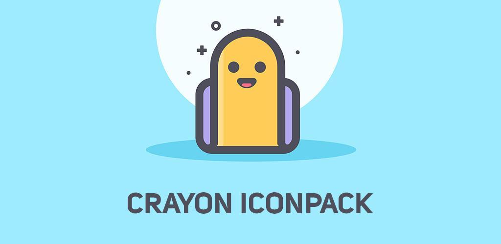 دانلود Crayon Icon Pack 2.4 – آیکون پک پاستلی با رنگ های بسیار زیبا و جذاب مخصوص اندروید