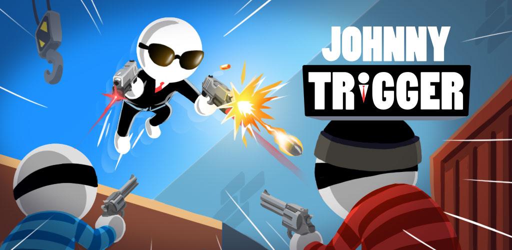 """دانلود Johnny Trigger 1.12.3 – بازی اکشن و تفننی جالب """"جانی تریگر"""" اندروید + مود"""