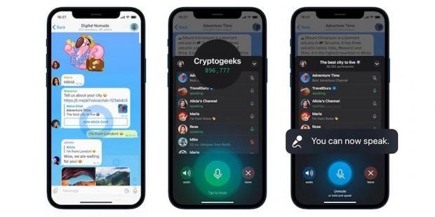 محدودیت چت صوتی در تلگرام برداشته شد؛ رادیوی مجازی را تجربه کنید