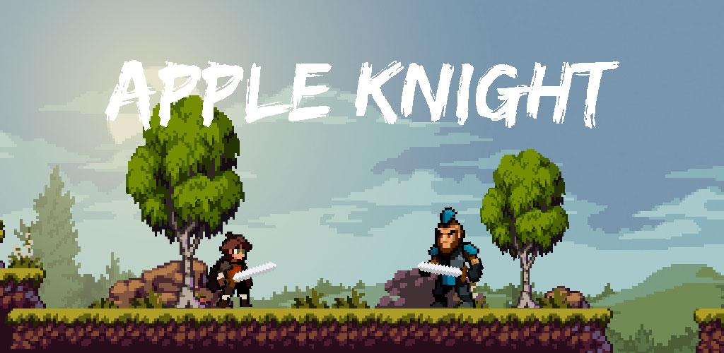 """دانلود Apple Knight: Action Platformer 2.1.4 – بازی اکشن-پلتفرمر """"شوالیه اپل"""" اندروید + مود"""
