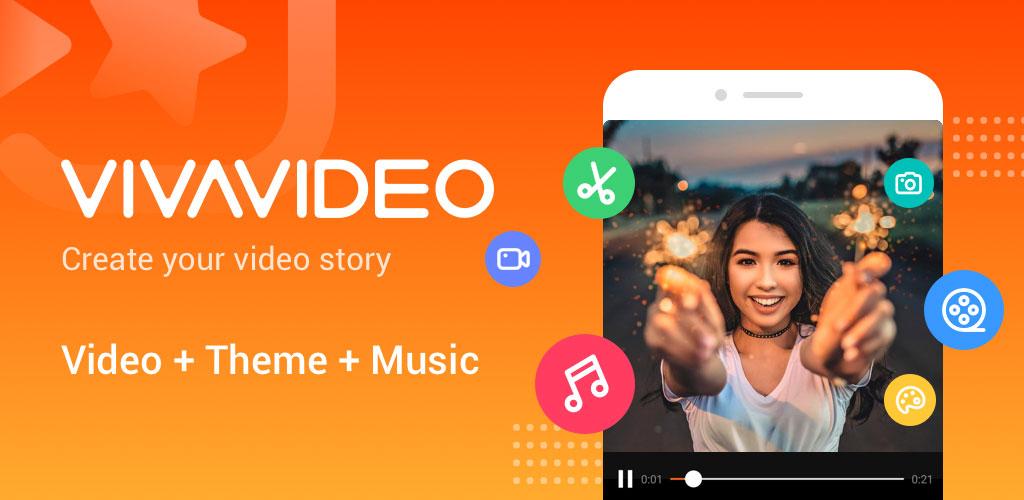 دانلود Video Editor & Video Maker – VivaVideo 8.7.3 – اپلیکیشن قدرتمند و پیشرفته ویرایش ویدئو اندروید + آنلاک
