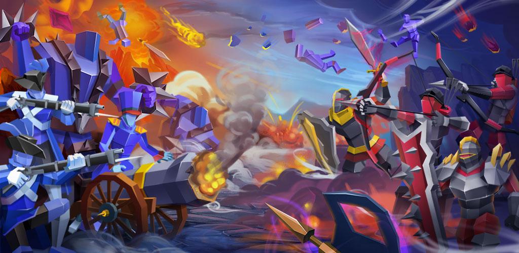 دانلود Epic Battle Simulator 2 1.5.10 – بازی شبیه ساز میدان نبرد اندروید + مود + نسخه اول