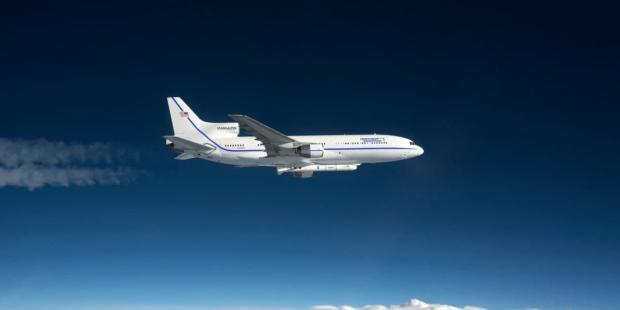 نیروی فضایی آمریکا یک ماهواره را از هواپیما به فضا پرتاب کرد