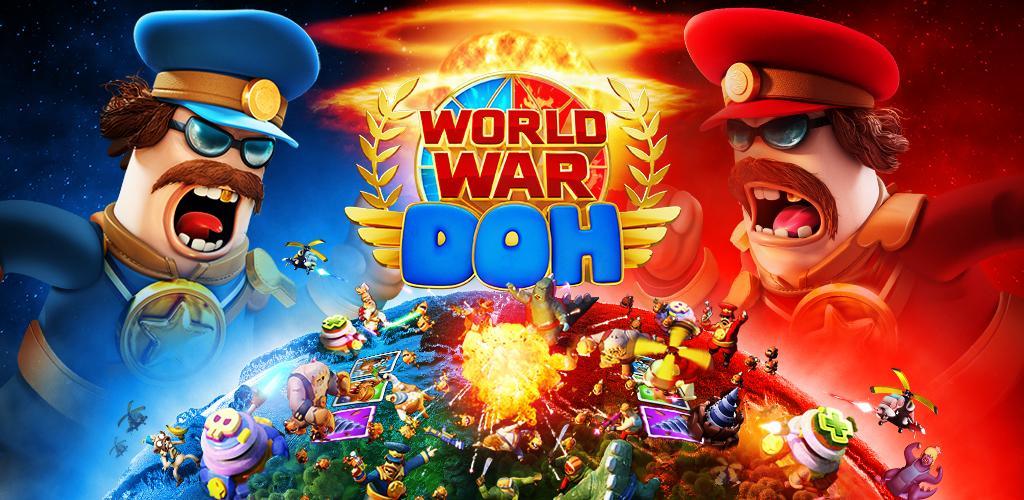 """دانلود World War Doh: Real Time PvP 1.7.5 – بازی استراتژیکی آنلاین """"جنگ جهانی دو نفره"""" اندروید!"""