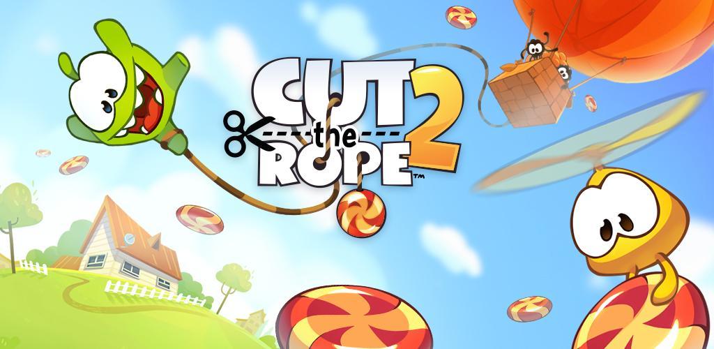 دانلود Cut the Rope 2 1.30.0 – بازی محبوب طناب را ببر ۲ اندروید + مود