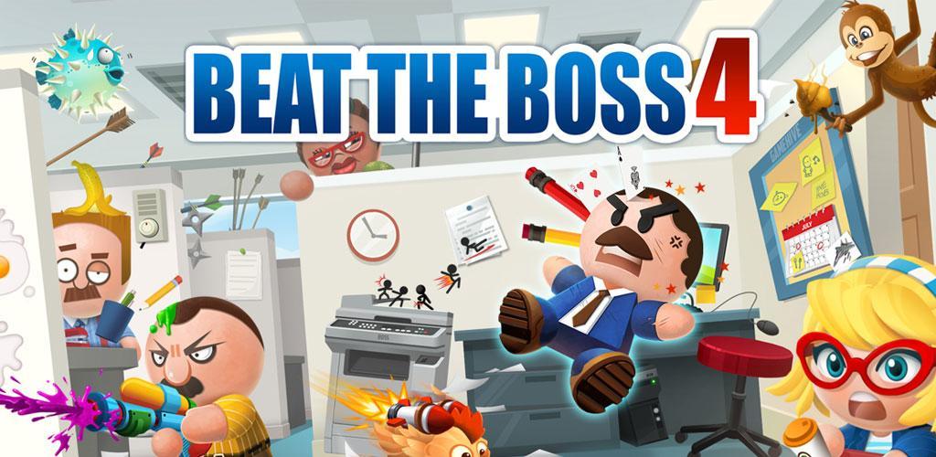 دانلود Beat the Boss 4 1.7.4 – بازی ضرب و شتم رئیس ۴ اندروید + مود