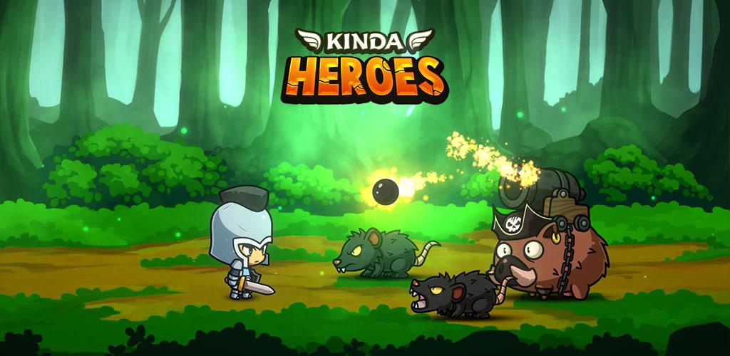 """دانلود Kinda Heroes 2.14 – بازی نقش آفرینی """"قهرمانان مبارز"""" اندروید + مود"""