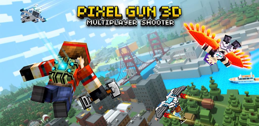 """دانلود Pixel Gun 3D 21.1.2 – بازی اکشن """"تفنگداران پیکسلی"""" اندروید + دیتا"""