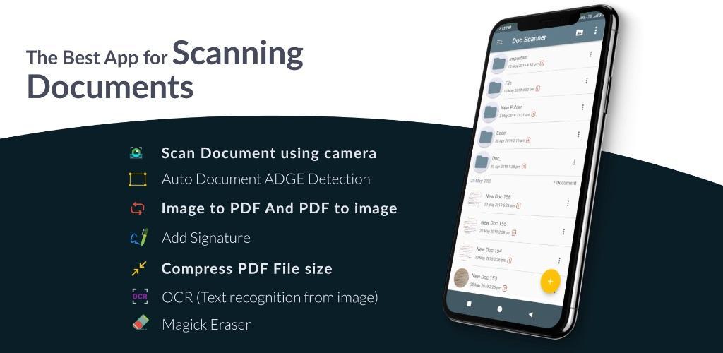 دانلود Document Scanner – PDF Creator Pro 6.2.10 – اسکن و تبدیل اسناد به فایل پی دی اف اندروید