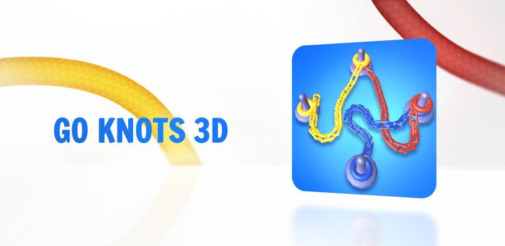 """دانلود Go Knots 3D 11.3.0 – بازی پازل و فکری """"گره ها رو باز کن"""" اندروید + مود"""