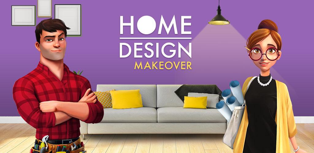 """دانلود Home Design Makeover 3.5.9g – بازی شبیه سازی جالب """"طراحی خانه"""" اندروید + مود"""