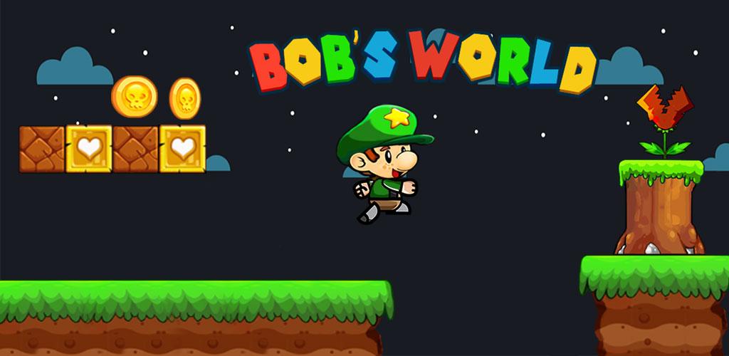 """دانلود Bob's World – Super Adventure 1.223 – بازی ماجرایی """"دنیای باب"""" اندروید + مود"""
