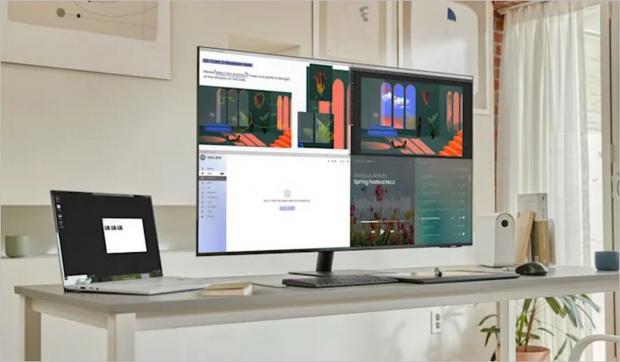 مانیتور های هوشمند سامسونگ در ابعاد ۲۴ و ۴۳ اینچ معرفی شدند