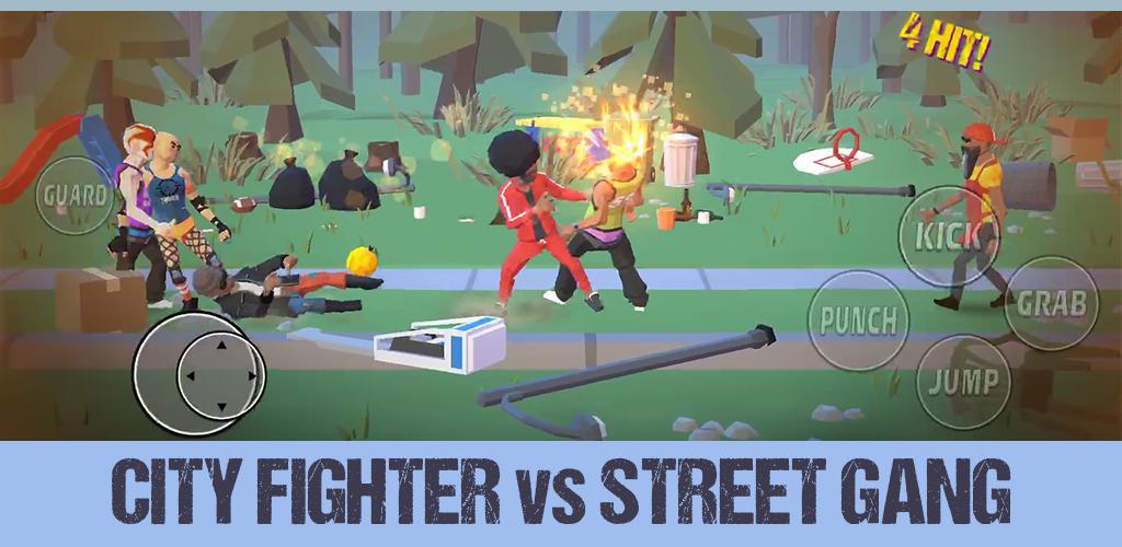 """دانلود City Fighter vs Street Gang 2.1.5 – بازی اکشن """"مبارزه با خلافکاران خیابانی"""" اندروید + مود"""