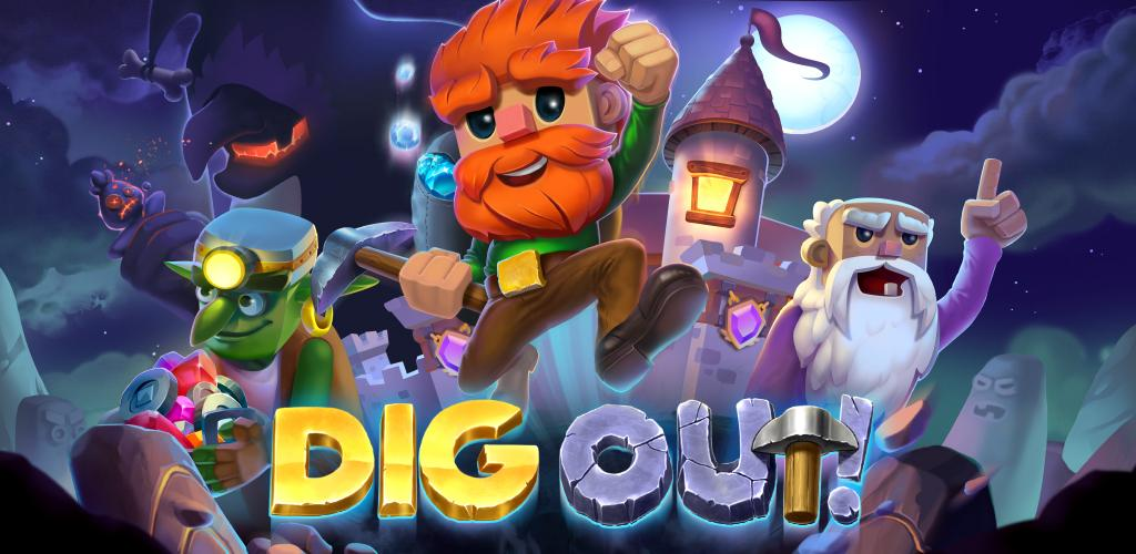 """دانلود Dig Out 2.21.2 – بازی جالب و اعتیادآور """"حفاری"""" اندروید + مود"""