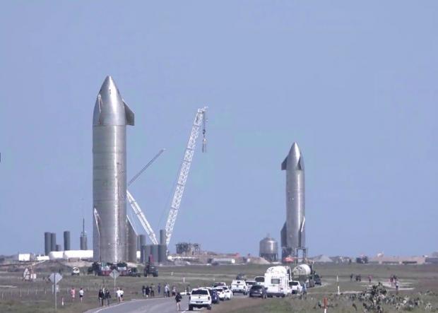 تصویر راکت استارشیپ جدید ایلان ماسک شبیه صحنه فیلم های هالیوودی است!