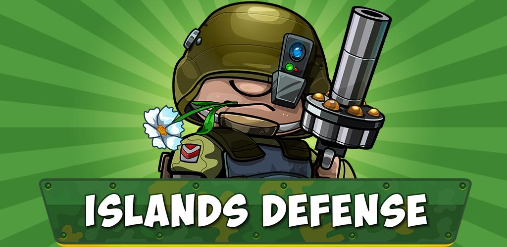 """دانلود Island Defense: Offline Tower Defense 20.32.570 – بازی استراتژیکی """"دفاع از جزیره"""" اندروید + مود"""