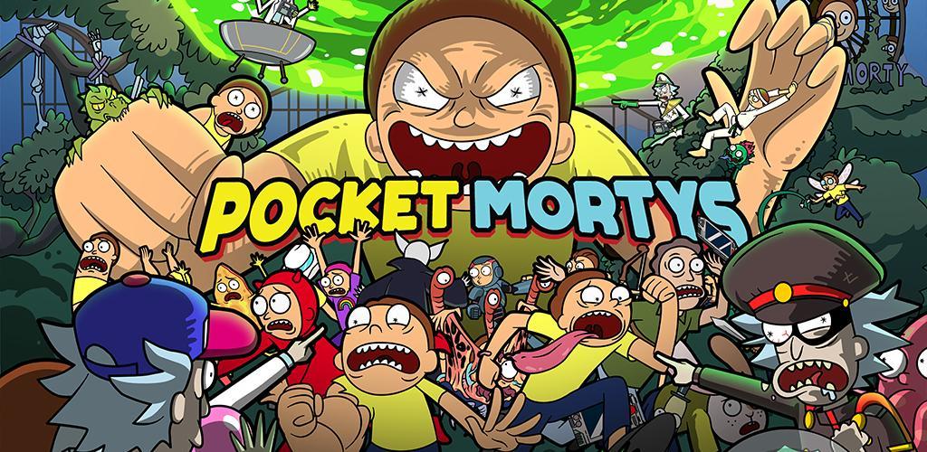 """دانلود Pocket Mortys 2.23.0 – بازی شبیه ساز جالب """"مورتی های جیبی"""" اندروید + مود"""
