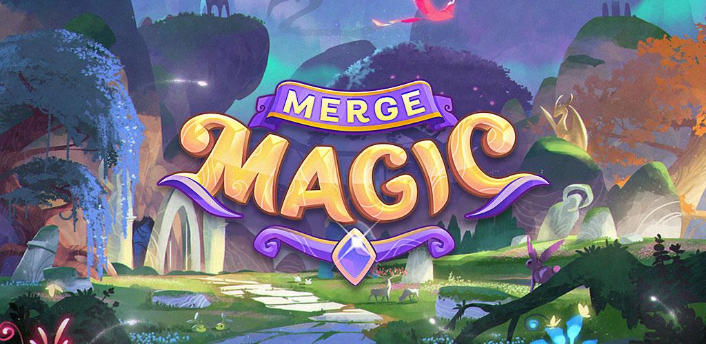 """دانلود Merge Magic! 2.11.0 – بازی پازل فوق العاده """"جادوی ترکیب"""" اندروید + مود"""