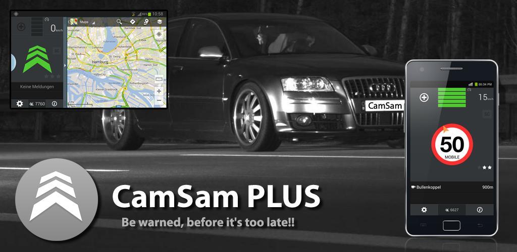 دانلود CamSam PLUS 3.7.6 – نقشه دوربین های کنترل سرعت اندروید