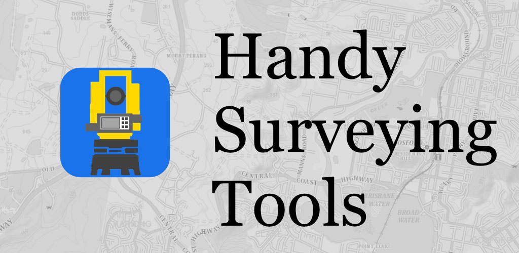 دانلود Handy Surveying 5.7 – اپلیکیشن محاسبات نقشه برداری مخصوص اندروید