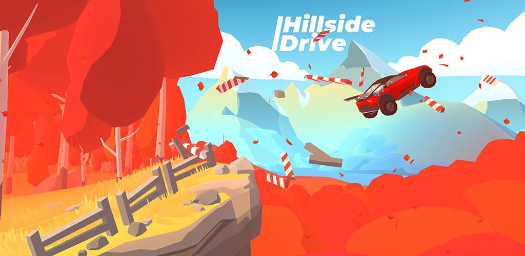 """دانلود Hillside Drive – Hill Climb 0.8-53 – بازی مسابقه ای """"رانندگی در تپه ها"""" اندروید + مود"""